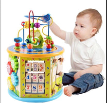 Load image into Gallery viewer, 8-In-1 Activity Toy Develops Colors, Numbers, Time and Shapes!