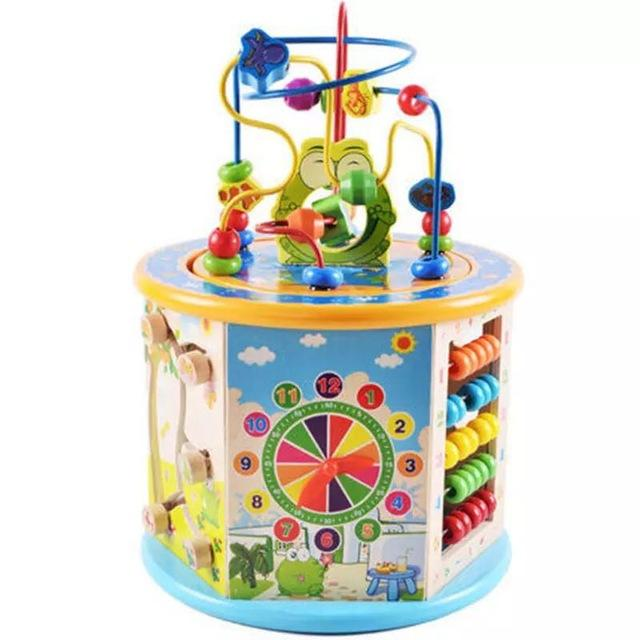 8-In-1 Activity Toy Develops Colors, Numbers, Time and Shapes!