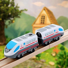 Load image into Gallery viewer, Hape Electric Toy Train Is Fun For Your Little Engineer!