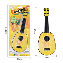 Load image into Gallery viewer, Fun, Educational Ukulele/Guitar For Kids With Cartoons and Colors!