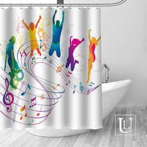 Personalized Music Shower Curtains In 22 Patterns!