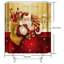 Load image into Gallery viewer, Christmas Festival Shower Curtain!