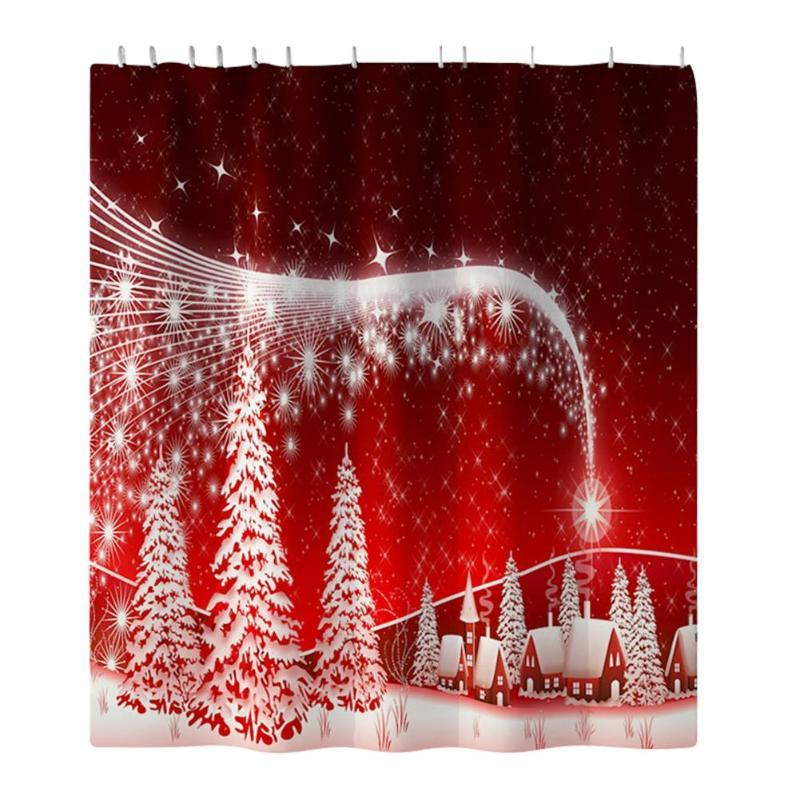 Christmas Bath Sets and Shower Curtains!
