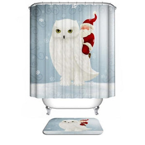 """Winter Fun"" Shower Curtains!"