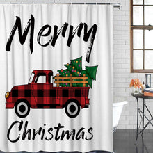 Load image into Gallery viewer, 'Buffalo Plaid' Shower Curtain!