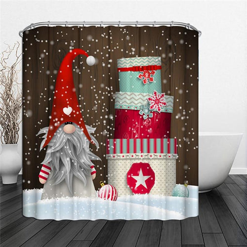 New! Gnome Shower Curtain!