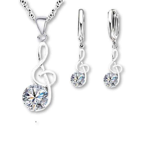 Special!! Just $16.95 For .925 Sterling Necklace and Earrings!