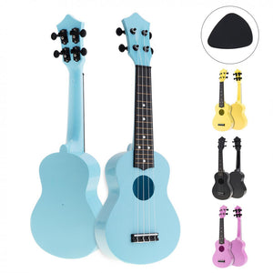 21 Inch Colorful Acoustic Ukulele! Comes in Four Colors!