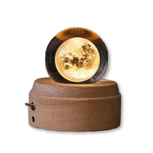 A Crystal Ball Music Box For You! Bring Your Own Light Show To The Party!