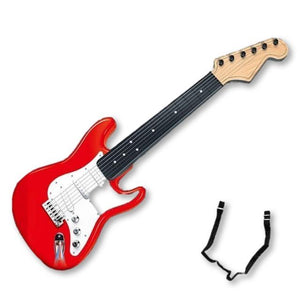 Lights, Music, Action! Child's Simulation Dual-Mode Guitar Is Ready For Christmas Giving.