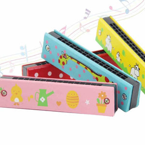 Your Grandkids Will Love This Colorful Harmonica!