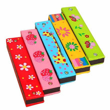 Load image into Gallery viewer, Your Grandkids Will Love This Colorful Harmonica!