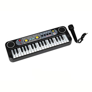 An Electronic Keyboard For Beginners! Comes With A Microphone!