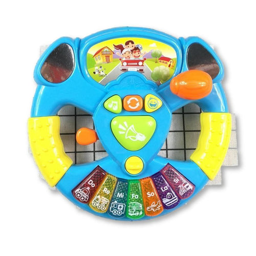 Baby Steering Wheel with Sounds Lights and Music! Popular Seller!