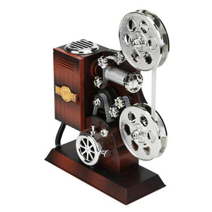 Do You Remember Reel-to-Reel Movies? This Projector Is A Music Box Too!