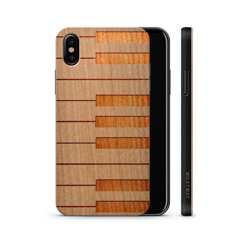Snap-On Phone Case For Your Pianist Made From Real Wood