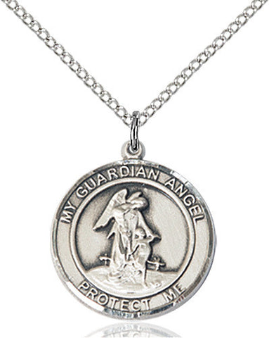 GUARDIAN ANGEL W/CHILD MEDAL