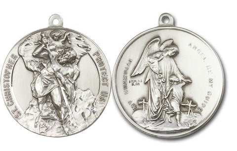 Unique Saint Christopher Medal