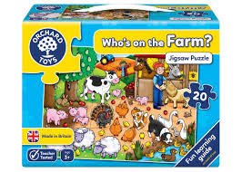 Orchard Toys Who's on the Farm? - David Rogers Toymaster