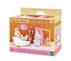 Sylvanian Families Bath and Shower Set - David Rogers Toymaster