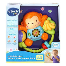Vtech Swing and Shake Monkey Rattle - David Rogers Toymaster