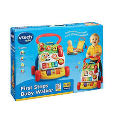 Vtech First Steps Baby Walker Blue