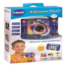 Vtech Kidizoom Camera Duo Blue - David Rogers Toymaster