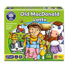Orchard Toys Old MacDonald Lotto - David Rogers Toymaster