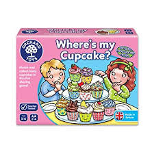 Orchard Toys Where's My Cupcake? - David Rogers Toymaster