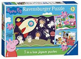 Peppa Pig 3 in a box Puzzles