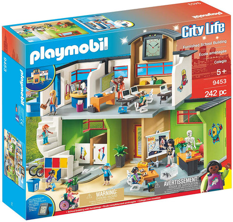 Playmobil City Life Furnished School Building 9453 - David Rogers Toymaster