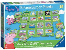 Peppa Pig Giant Floor Puzzle