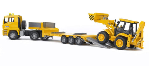 Bruder 2776 Man, Truck and JCB 4CX - David Rogers Toymaster