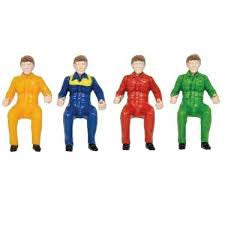 Britains 43203 Sitting Drivers 4 Pack - David Rogers Toymaster