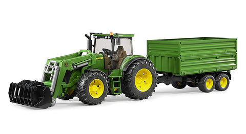 Bruder 3055 John Deere and Trailer - David Rogers Toymaster