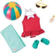 Our Generation Retro Beach Belle Outfit - David Rogers Toymaster