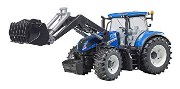 Bruder 3121 New Holland and Front Loader - David Rogers Toymaster