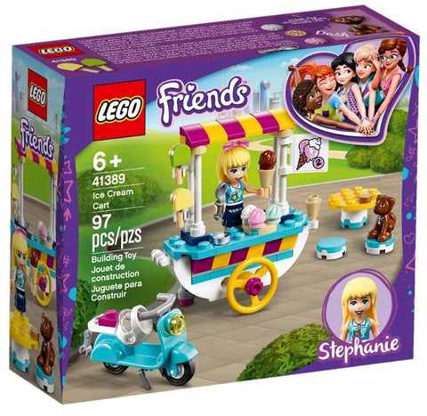 Lego Friends 41389 Ice Cream Cart - David Rogers Toymaster