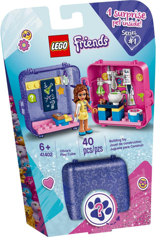 Lego Friends 41402 Olivia's Play Cube - David Rogers Toymaster