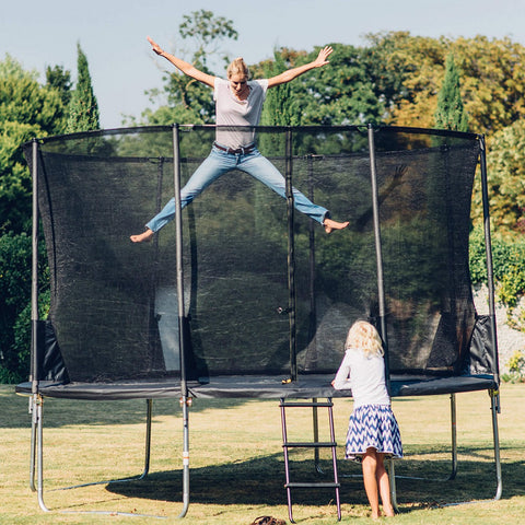 Plum 14FT Spacezone Trampoline With 3G Enclosure