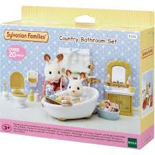 Sylvanian Families Country Bathroom Set - David Rogers Toymaster