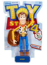 Toy Story 4 Posable Figure Woody - David Rogers Toymaster