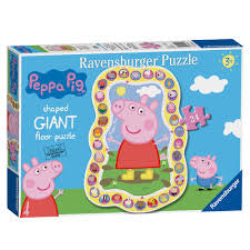 Peppa Pig Story Giant Floor Puzzle - David Rogers Toymaster