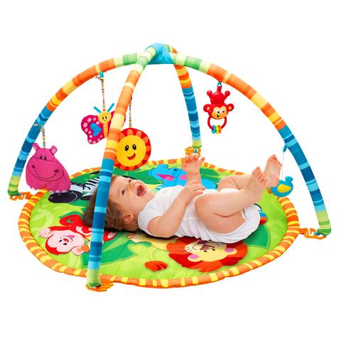 Win Fun Jungle Pals Play Mat - David Rogers Toymaster