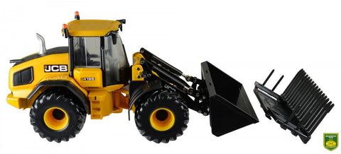 Britains 43223 JCB Wheel Loading Shovel - David Rogers Toymaster