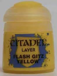 Warhammer Flash Gitz Yellow Layer Paint 22-02 - David Rogers Toymaster