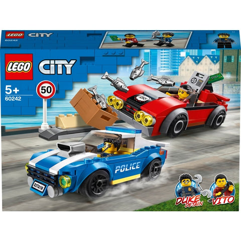 Lego City 60242 Police Highway Arrest - David Rogers Toymaster