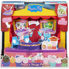 Peppa Pig Stage Playset - David Rogers Toymaster