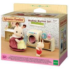 Sylvanian Families Washing Machine Set - David Rogers Toymaster