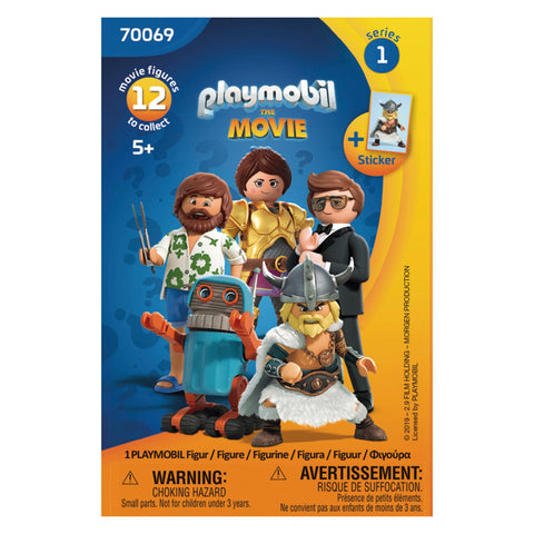 Playmobil 70069 The Movie Figures - David Rogers Toymaster
